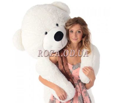 """White bear 2 m"" in the online flower shop roza.od.ua"
