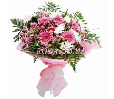 """Delicate bouquet of flowers"" in the online flower shop roza.od.ua"