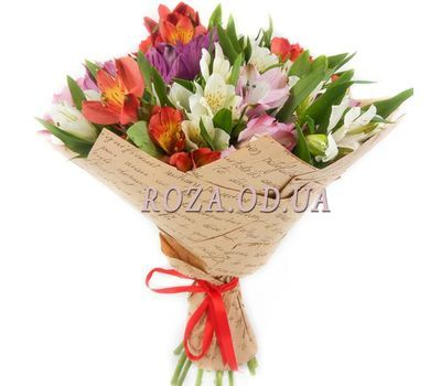 """Bouquet of 21 alstromeries"" in the online flower shop roza.od.ua"