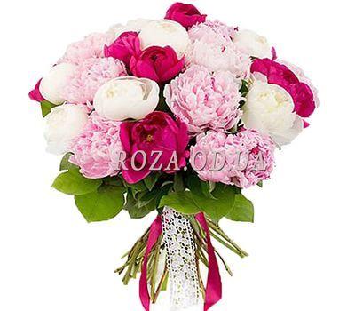 """""""Букет из 21 пионов"""" в интернет-магазине цветов roza.od.ua"""