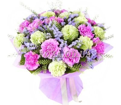 """""""Bouquet of 23 carnations"""" in the online flower shop roza.od.ua"""