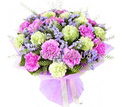 """Букет із 23 гвоздик"" в интернет-магазине цветов roza.od.ua"