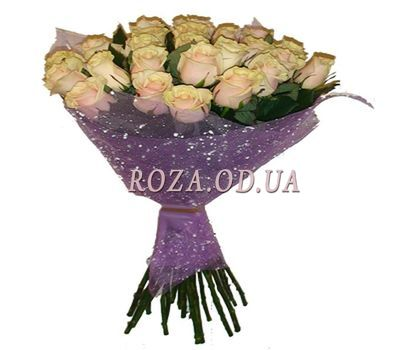 """""""Bouquet of cream roses"""" in the online flower shop roza.od.ua"""