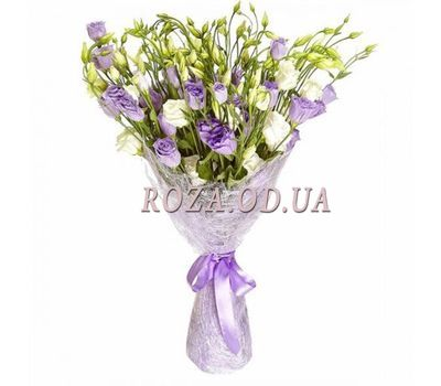 """""""Bouquet of 25 eustom"""" in the online flower shop roza.od.ua"""