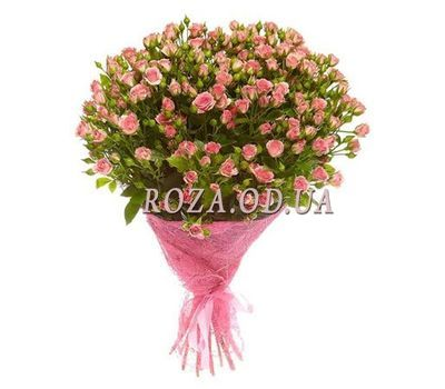 """""""Bouquet of 25 bush roses"""" in the online flower shop roza.od.ua"""