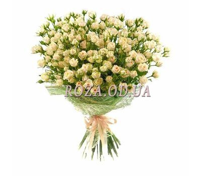 """Bouquet of 27 bush roses"" in the online flower shop roza.od.ua"