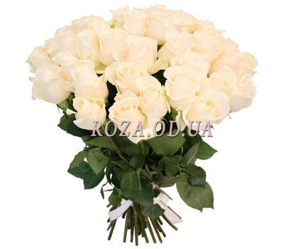 """Bouquet of cream roses"" in the online flower shop roza.od.ua"