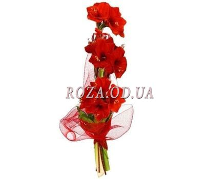 """Bouquet of 3 Amaryllis"" in the online flower shop roza.od.ua"