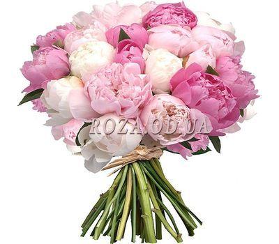"""""""Букет из 35 пионов"""" в интернет-магазине цветов roza.od.ua"""