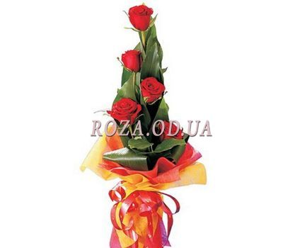 """Bouquet of 5 roses"" in the online flower shop roza.od.ua"