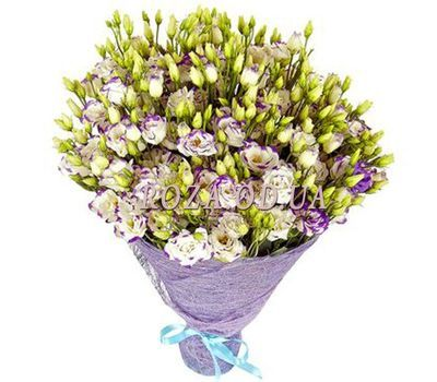 """""""Bouquet of 51 eustomos"""" in the online flower shop roza.od.ua"""