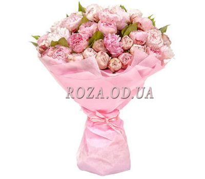 """""""Bouquet of peonies in Odessa"""" in the online flower shop roza.od.ua"""