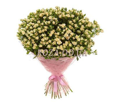 """Bouquet of 65 bush roses"" in the online flower shop roza.od.ua"