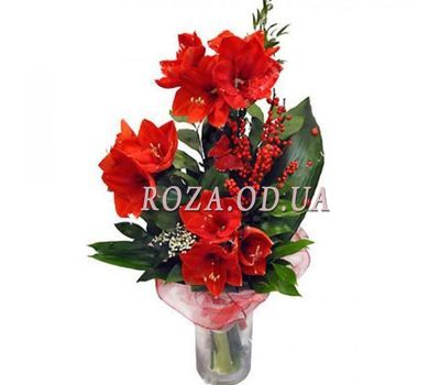 """""""Bouquet of Amaryllis"""" in the online flower shop roza.od.ua"""
