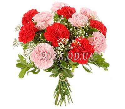 """Bouquet of carnations"" in the online flower shop roza.od.ua"