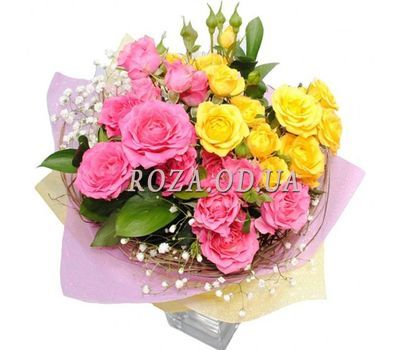"""""""Bouquet of bush roses"""" in the online flower shop roza.od.ua"""