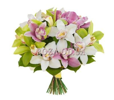 """Bouquet of orchids"" in the online flower shop roza.od.ua"