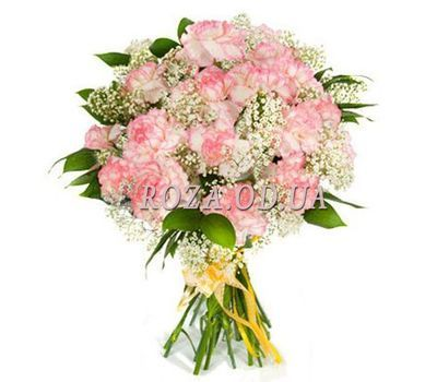 """""""Bouquet of pink carnations"""" in the online flower shop roza.od.ua"""