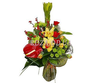 """Bouquet to a colleague"" in the online flower shop roza.od.ua"