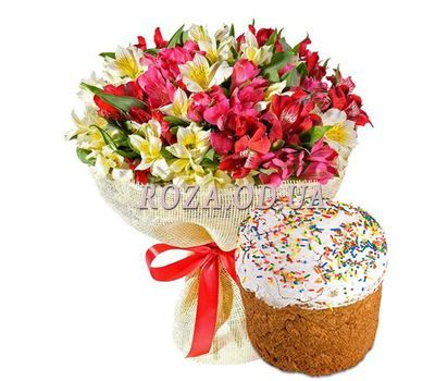 """Bouquet for Easter"" in the online flower shop roza.od.ua"