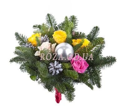 """""""A bouquet for Christmas"""" in the online flower shop roza.od.ua"""