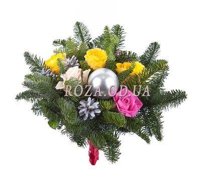 """Букет на Рождество"" в интернет-магазине цветов roza.od.ua"