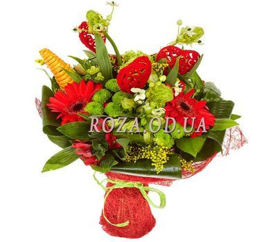 """Bouquet for Valentine"" in the online flower shop roza.od.ua"