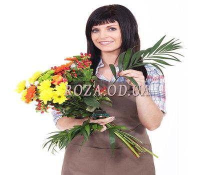 """Bouquet from florist"" in the online flower shop roza.od.ua"