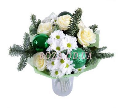"""""""Bouquet for the New Year"""" in the online flower shop roza.od.ua"""