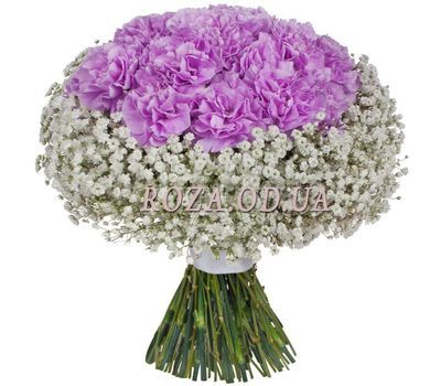 """Bouquet with carnations"" in the online flower shop roza.od.ua"