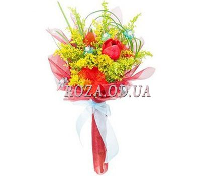 """Bouquet with mimosa"" in the online flower shop roza.od.ua"