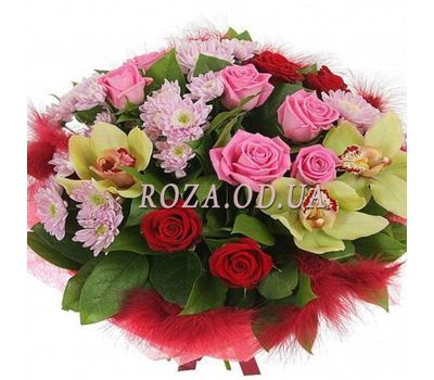 """Bouquet with orchids"" in the online flower shop roza.od.ua"