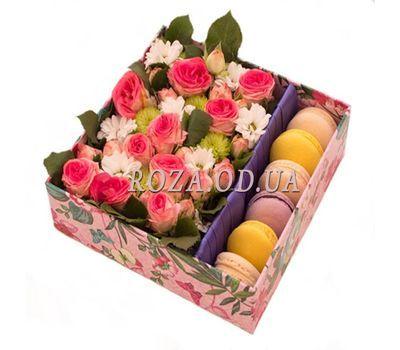 """""""Цветы и пирожные"""" в интернет-магазине цветов roza.od.ua"""