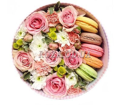 """Flowers in a box"" in the online flower shop roza.od.ua"