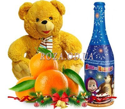 """Children's New Years gift"" in the online flower shop roza.od.ua"