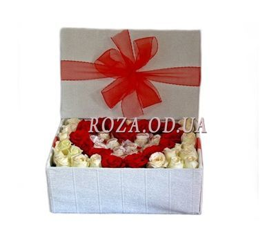 """Hot Heart"" in the online flower shop roza.od.ua"