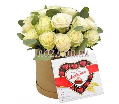 """The perfect duo"" in the online flower shop roza.od.ua"