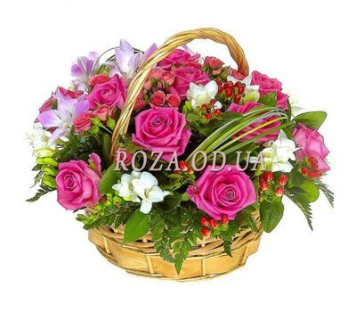 """""""Корзина цветов"""" в интернет-магазине цветов roza.od.ua"""