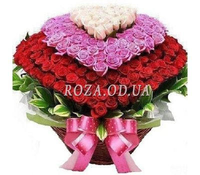 """Basket of 501 roses"" in the online flower shop roza.od.ua"