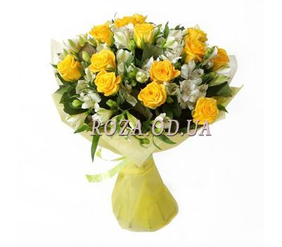 """Beautiful bouquet of flowers"" in the online flower shop roza.od.ua"