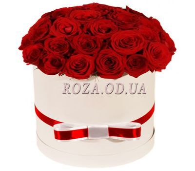 """Roses in a Box"" in the online flower shop roza.od.ua"