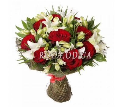 """Unusual bouquet of flowers"" in the online flower shop roza.od.ua"