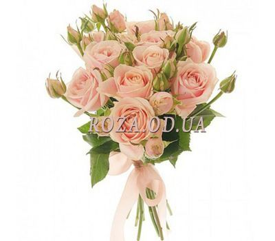 """Delicate bouquet of roses"" in the online flower shop roza.od.ua"