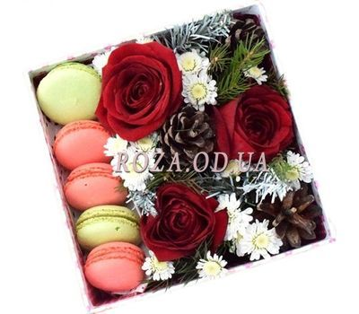 """New Year Sweets"" in the online flower shop roza.od.ua"