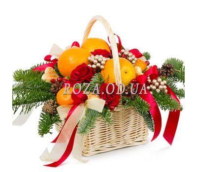 """""""Новогодний подарок"""" в интернет-магазине цветов roza.od.ua"""