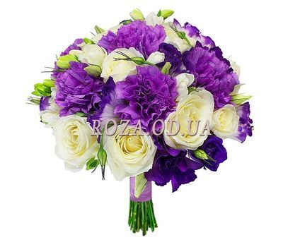 """Ogiginalny bouquet with carnations"" in the online flower shop roza.od.ua"