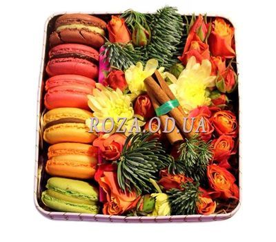 """Cakes for the New Year"" in the online flower shop roza.od.ua"