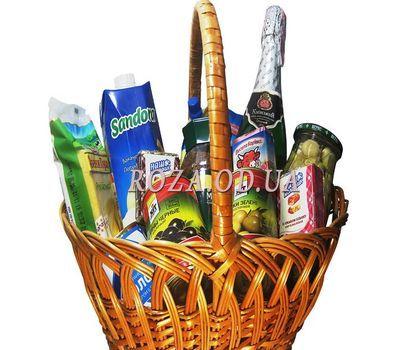 """Gift basket"" in the online flower shop roza.od.ua"