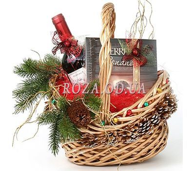 """Gift for the New Year"" in the online flower shop roza.od.ua"