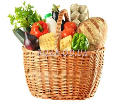 """Food basket"" in the online flower shop roza.od.ua"